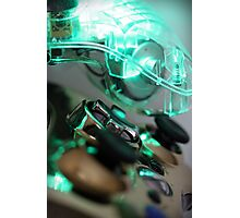 The Glowing Gamer Photographic Print