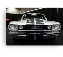 Ford Mustang Fastback - 5D20380 Canvas Print
