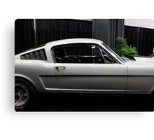 Ford Mustang Fastback - 5D20385 Canvas Print