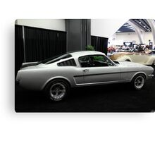 Ford Mustang Fastback - 5D20386 Canvas Print