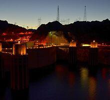 Hoover Dam by Eleu Tabares