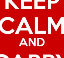 Keep Calm and Carry Canon Sticker