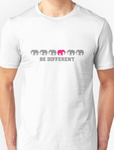 Elephants Be Different T-Shirt