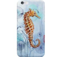 iPhone Case- Seahorse with Sewing Thread iPhone Case/Skin