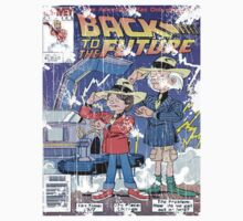 Back to the future comic book by jayayala