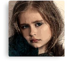 Face 22 Canvas Print