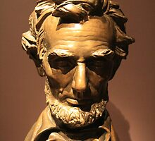 Abraham Lincoln By Saint-Gaudens by Cora Wandel