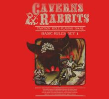 Caverns & Rabbits Kids Clothes