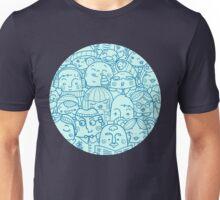 People in crowd pattern Unisex T-Shirt