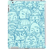 People in crowd pattern iPad Case/Skin