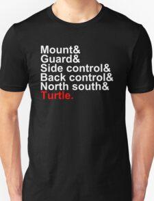 Brazilian Jiu Jitsu Positions T-Shirt