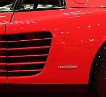 1986 Ferrari Testarossa - 5D19882 by Wingsdomain Art and Photography