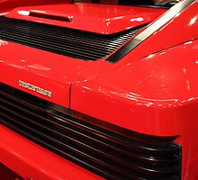 1986 Ferrari Testarossa - 5D19892 by Wingsdomain Art and Photography