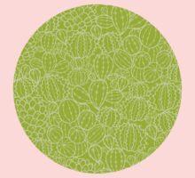Cactus plants texture pattern Baby Tee
