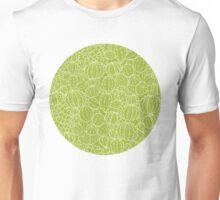 Cactus plants texture pattern Unisex T-Shirt