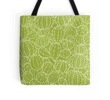 Cactus plants texture pattern Tote Bag