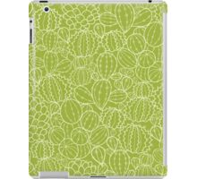 Cactus plants texture pattern iPad Case/Skin