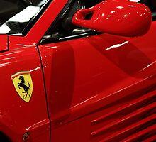 1986 Ferrari Testarossa - 5D20026 by Wingsdomain Art and Photography