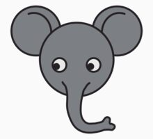 Cute Elephant Baby Boy by Style-O-Mat