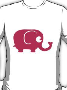Cute Elephant Baby T-Shirt
