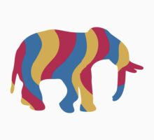 Colorful Elephant by Style-O-Mat