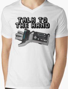 Powerglove: Talk to the Hand Mens V-Neck T-Shirt