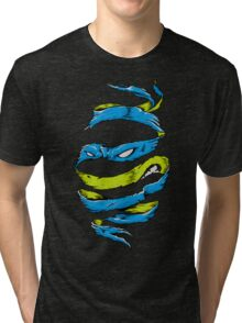 Blue Rind Tri-blend T-Shirt