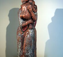 Burke's Untitled Woman And Child by Cora Wandel