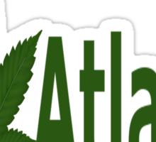 0121 I Love Atlanta Sticker