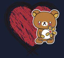 sad bear 2 Kids Clothes