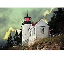 Bass Harbor Head Lighthouse Photographic Print