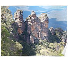 Echo Point Blue Mountains NSW Poster