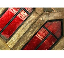 Red panes Photographic Print