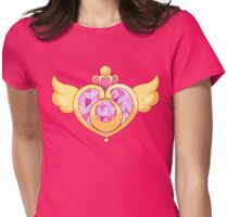 Sailor Moon- Heart Brooch Womens Fitted T-Shirt