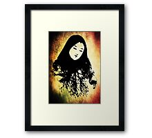 Enchanting Oriental Mood Framed Print