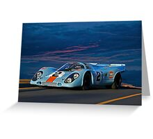 1969 Porsche 911 917K Greeting Card