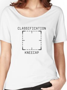 Person of Interest - Classification: Kneecap - Black Women's Relaxed Fit T-Shirt
