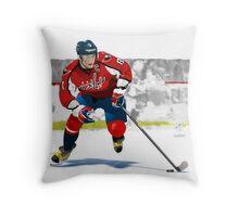 Alex Ovechkin Throw Pillow
