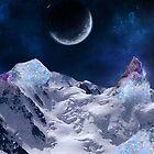 Gem stone mountain by MidnightMermaid
