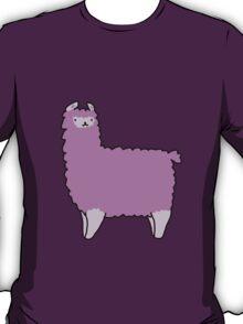 Purple Alpaca T-Shirt