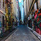 Hosier Laneway by Leonie Morris