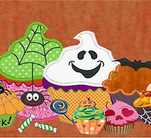 Halloween Cupcakes by Ann12art