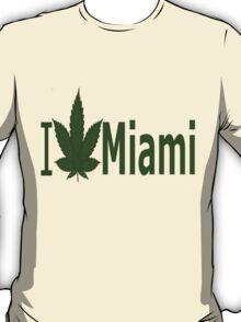 0125 I Love Miami T-Shirt