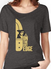 ON the Knife-Edge Women's Relaxed Fit T-Shirt