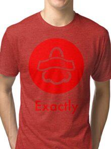 Bottle Rocket 'Exactly' - Red Tri-blend T-Shirt
