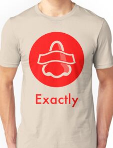 Bottle Rocket 'Exactly' - Red T-Shirt