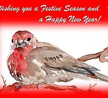 Wishing you a Festive Season! by Maree Clarkson