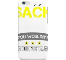SACK iPhone Case/Skin