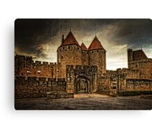 Carcassonne Canvas Print