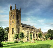Holy Trinity Church Shaftesbury by larry flewers